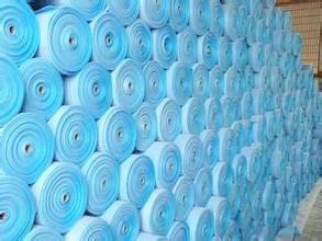 蓝色珍珠棉卷材